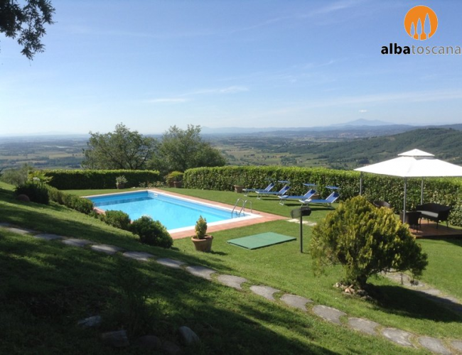 <h3><a href='http://www.alba-toscana.eu/st/70/'>Villa with private pool in Tuscany Arezzo in Civitella in Val di Chiana</a></h3><p>