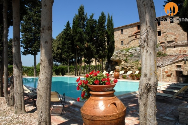 <h3><a href='http://www.alba-toscana.eu/st/23/'>Magnificent farmhouse with pool near Siena in Asciano Tuscany</a></h3><p>